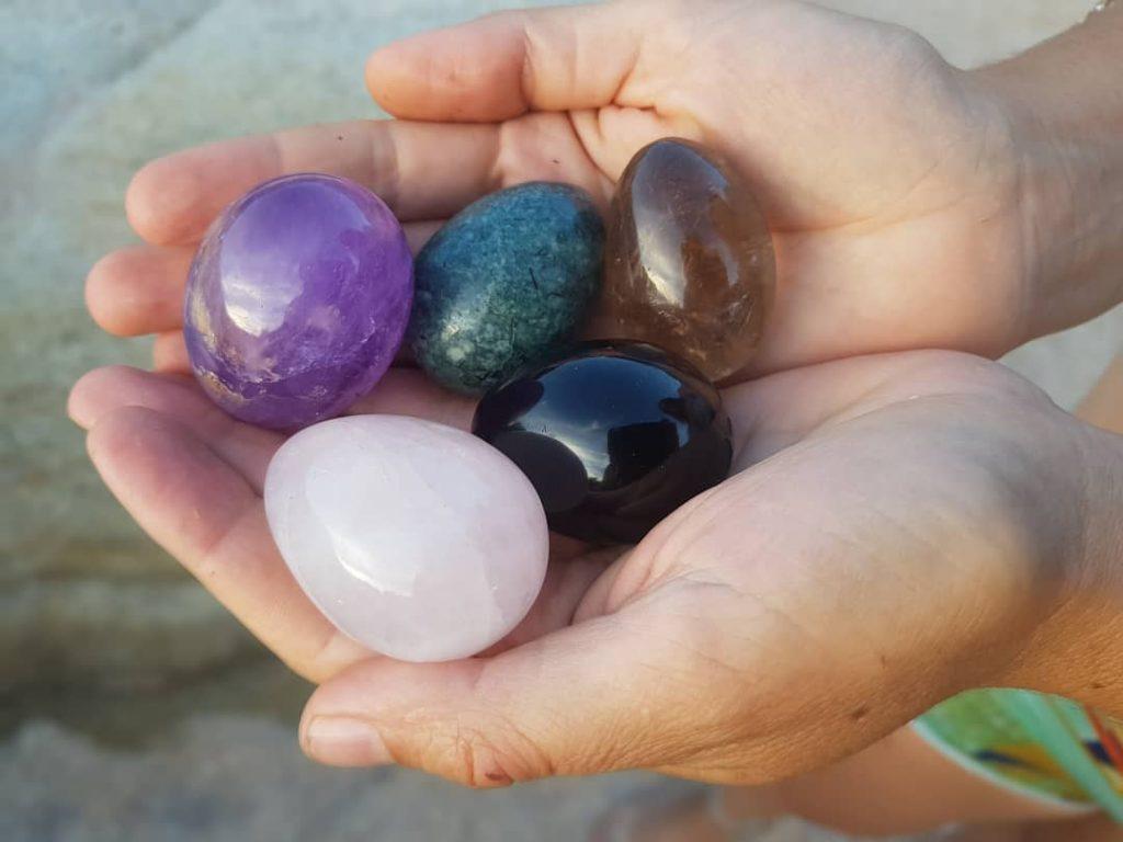huevo yoni amatista para trasmutar toda la energía