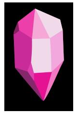 cristal de doble punta